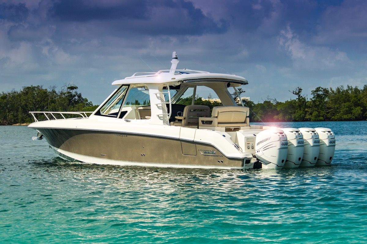 BOSTON WHALER 380 REALM 2019 JUST SOLD