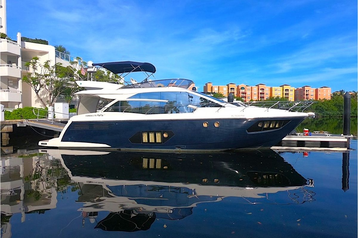NEWLY LISTED FOR SALE: ABSOLUTE 55 2013