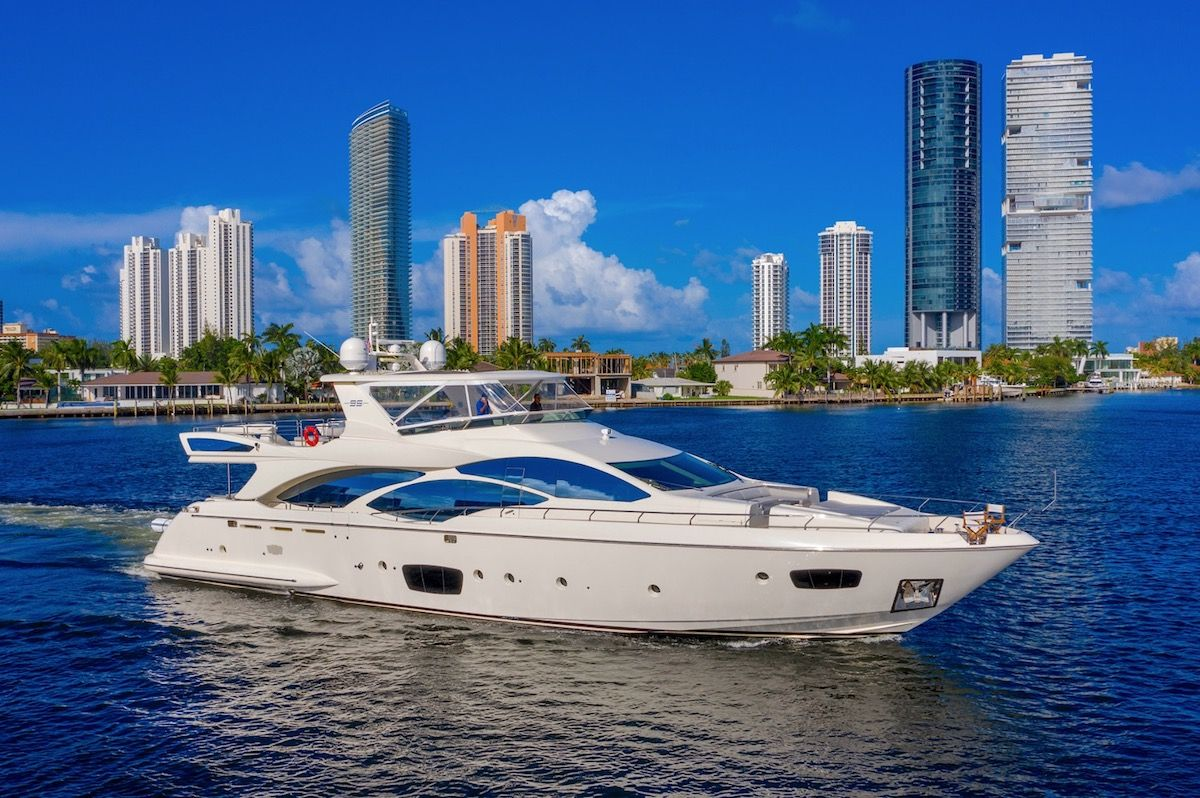 NEWLY LISTED FOR SALE: 2010 AZIMUT 95