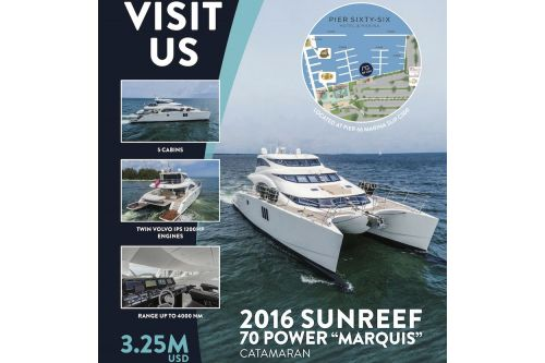 2016 Sunreef 70 Power