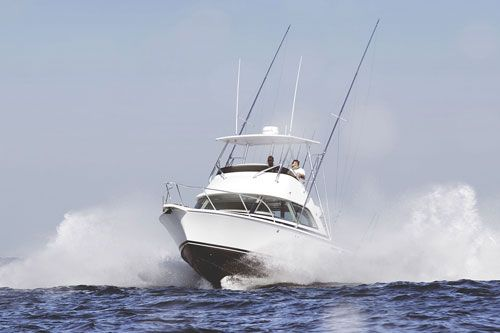 Created in 1960 by Richard Bertram, Bertram Yacht, is a Miami-based manufacturer of production pleasure boats. Bertram Yacht began the first large production runs of boats with C. Raymond Hunt's revolutionary