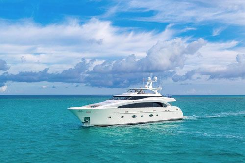 Horizon Yachts was founded in 1987 in Taiwan.For over 30 years, Horizon Yachts has defined, perfected and consistently exceeded the standards for design and craftsmanship with its range of 52 to 150-foot luxury